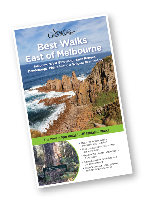 Best Walks East of Melbourne Book