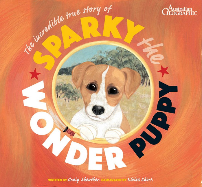 Sparky the Wonder Puppy Book Cover